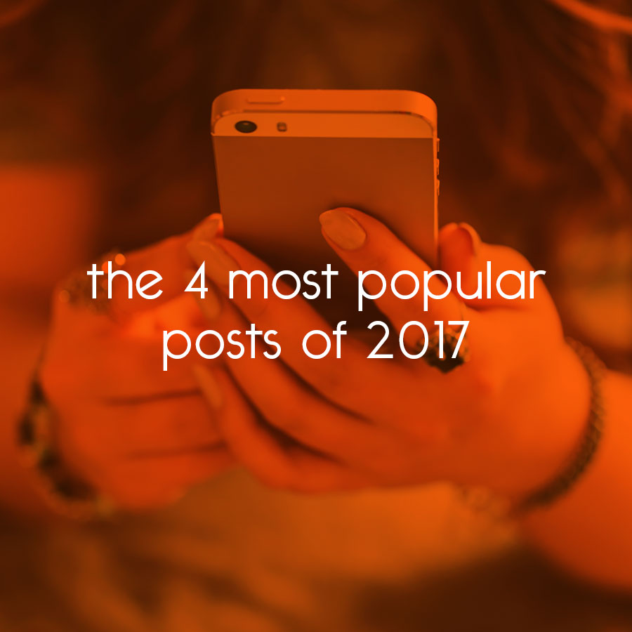the 4 most popular posts of 2017 // tiny blue orange