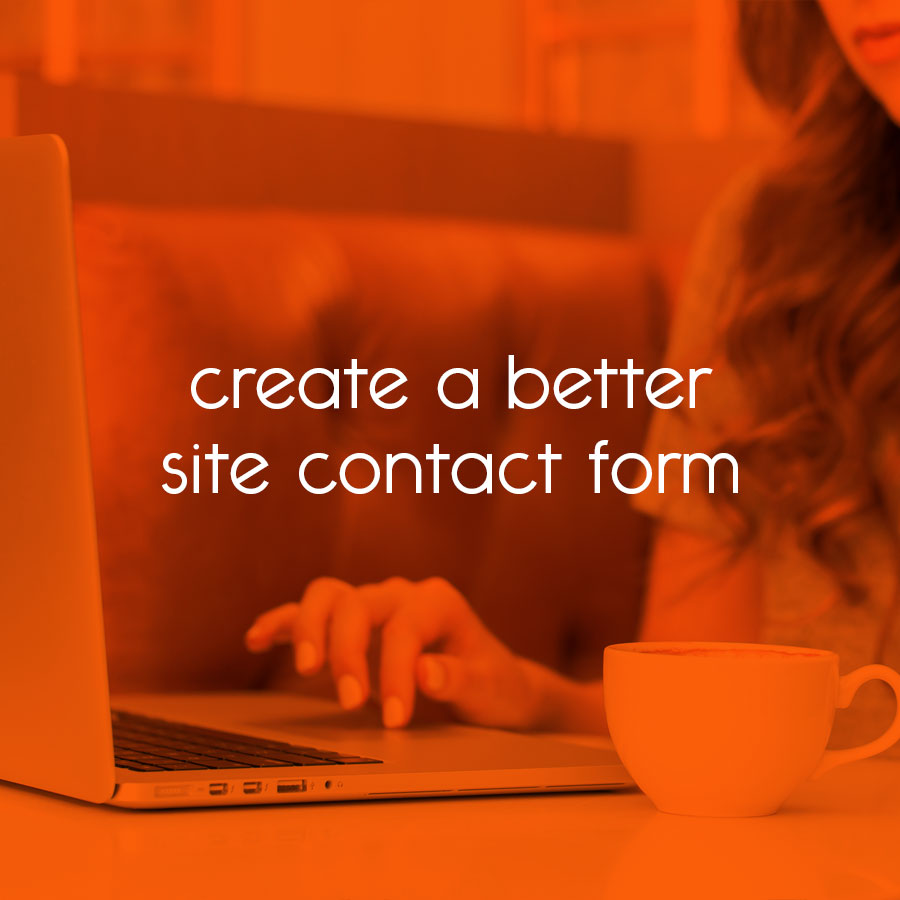 create a better site contact form // tiny blue orange