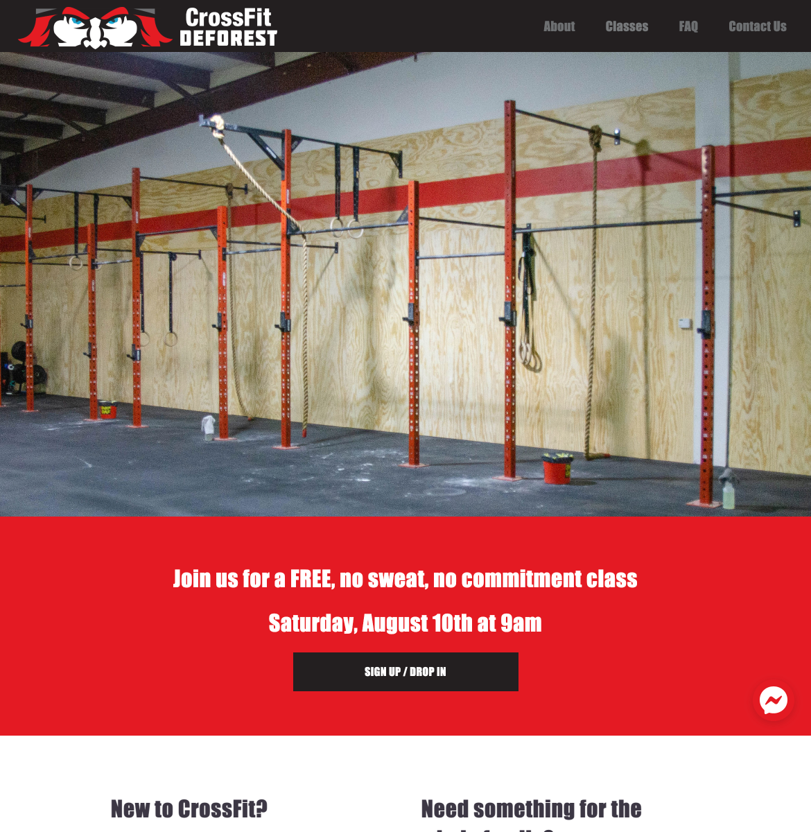 CrossFit DeForest Home Page